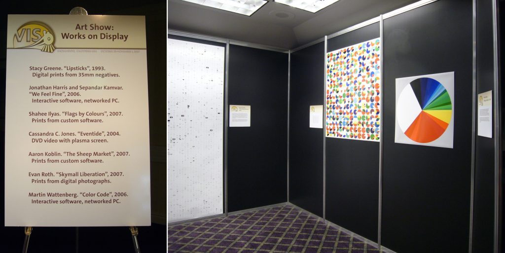 IEEE Infovis 2007 Art Exhibition / Golan Levin